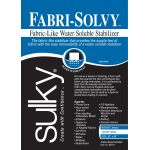 Sulky Fabri-Solvy water soluble stabiliser by Sulky Stabiliser & Interfacing - OzQuilts