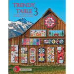 Trendy Table 3 : 15 designs for runners and toppers by Anka's Treasures Quilt Books - OzQuilts