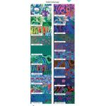 Kaffe Fassett Collective Classics - August 2020 Release -Cold - 21 Fat Quarters by The Kaffe Fassett Collective Fat Quarter Packs - OzQuilts