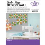 "Center Stage Design Wall GREY 60"" x 72"" by The Gypsy Quilter by The Gypsy Quilter Colour & Design Tools - OzQuilts"