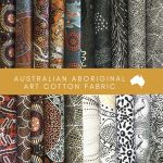 Aboriginal Art Fabric 20 Fat Quarter Bundle N by M & S Textiles Fat Quarter Packs - OzQuilts