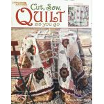 Cut, Sew, Quilt as You Go by Leisure Arts Quilt As You Go - OzQuilts