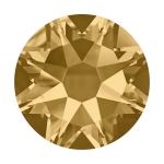 Swarovski Hotfix Flatback Crystals Light Colorado Topaz SS34 by Swarovski Stone Size SS34 (7mm) - OzQuilts