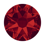 Swarovski Hotfix Flatback Crystals Light Siam SS20 by Swarovski Stone Size SS20 (5mm) - OzQuilts