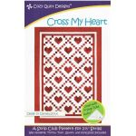 Cross My Heart Quilt Pattern by Cozy Quilt Designs by Cozy Quilt Designs Quilt Patterns - OzQuilts