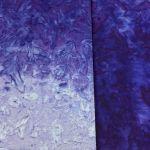 Java Fusion Batik Dark to Light Royal Blue Ombre Batik Watercolor Blender By Fresh Water Designs by Hoffman Batik - OzQuilts