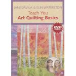 Jane Davila & Elin Waterston Teach You Art Quilting Basics DVD