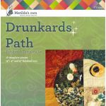 "Matilda's Own Drunkards Path 3"",4"" and 5"""