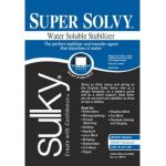 "Super Solvy Water Soluble Stabiliser 20"" x 1 yard"