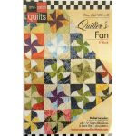 One Patch Pattern & Template Quilters Fan