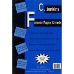 "CJ Jenkins Freezer Paper XXL Size 12"" x 15"" (40) Sheets"