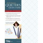 "Harriet Hargrave's Quilter's Graph Paper 8.5"" x 11"" (50 double sided sheets)"