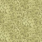 "Filigree 108"" wide Quilt Back - Light Green"
