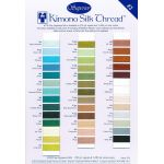 Superior Kimono Silk Thread Colour Card 2