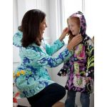 Amy Butler Little Splashes Hooded Raincoat and Runabout Jacket
