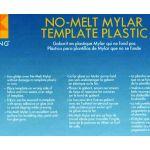 EZ Quilting Mylar No-Melt Templates Pack (6 Sheets)