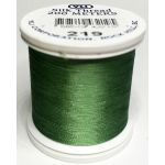 YLI Silk 100 Thread -219 Dark Mint Green