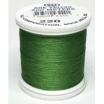 YLI Silk 100 Thread -220 Christmas Green