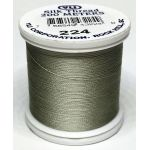 YLI Silk 100 Thread -224 Silver Grey