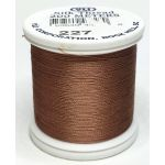 YLI Silk 100 Thread -227 Light Brown