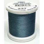 YLI Silk 100 Thread -237 Medium Weathered Blue