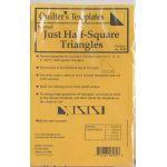 Marti Michell Half Square Triangle Nested Template Set