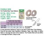 Clover Fusible Web 10 mm x 12 metres