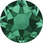 Swarovski Hotfix Flatback Crystals Emerald SS10 by Swarovski Stone Size SS10 & SS12 (2.8-3.2mm) - OzQuilts