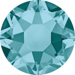 Swarovski Hotfix Flatback Crystals Blue Zircon SS10 by Swarovski Stone Size SS10 & SS12 (2.8-3.2mm) - OzQuilts