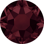 Swarovski Hotfix Flatback Crystals Burgundy SS10 by Swarovski Stone Size SS10 & SS12 (2.8-3.2mm) - OzQuilts