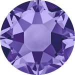 Swarovski Hotfix Flatback Crystals Tanzanite SS10 by Swarovski Stone Size SS10 & SS12 (2.8-3.2mm) - OzQuilts