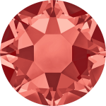 Swarovski Hotfix Flatback Crystals Padparadscha SS10 by Swarovski Stone Size SS10 & SS12 (2.8-3.2mm) - OzQuilts