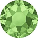 Swarovski Hotfix Flatback Crystals Peridot SS34 by Swarovski Stone Size SS34 (7mm) - OzQuilts