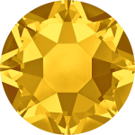 Swarovski Hotfix Flatback Crystals Light Topaz SS34 by Swarovski Stone Size SS34 (7mm) - OzQuilts