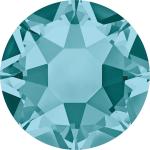 Swarovski Hotfix Flatback Crystals Blue Zircon SS34 by Swarovski Stone Size SS34 (7mm) - OzQuilts
