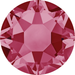 Swarovski Hotfix Flatback Crystals Indian Pink SS34 by Swarovski Stone Size SS34 (7mm) - OzQuilts