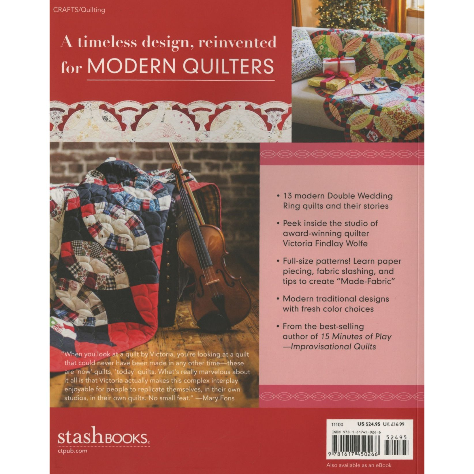 Books :: Double wedding Ring Quilts - Traditions Made Modern