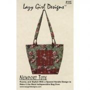 Newport Tote by Lazy Girl Designs - Bag Patterns