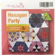 Hexagon Party Template Set by Matilda's Own - Quilt Blocks