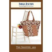 The Shopper Bag pattern by Indygo Junction - Bag Patterns