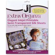 ExtravOrganza Inkjet Printable Fabric sheets (5) by Jacquard - Inkjet Fabric Sheets