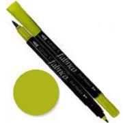Tsukineko Fabrico Dual Marker - Green Apple 110 by Tsukineko - Tsukineko Dual Tip Fabric Pens