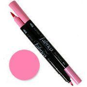 Tsukineko Fabrico Dual Marker - Lipstick Pink 106 by Tsukineko - Tsukineko Dual Tip Fabric Pens