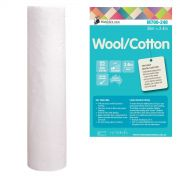 Matilda's Own 60/40 Wool/Cotton Batting Roll 30 metres x 2.4 metres by Matilda's Own - Bulk Rolls of Batting