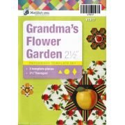 "Grandmas Flower Garden 2 ½"" Template Set by Matilda's Own - Quilt Blocks"
