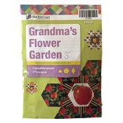 "Grandmas Flower Garden 3""Template Set by Matilda's Own - Quilt Blocks"