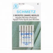 Schmetz Sharp Microtex Needles 60/8 by Schmetz - Machines Needles