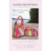 Aunties Two Bailey Island Hobo Pattern by Aunties Two - Bag Patterns