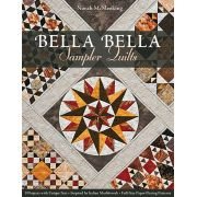 Bella Bella Sampler Quilts :9 Projects with Unique Sets - Inspired by Italian Marblework - Full-Size Paper-Piecing Patterns by C&T Publishing Paper Piecing - OzQuilts