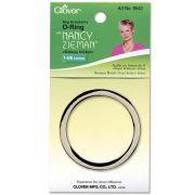 """Clover O-Ring 1-5/8"""" (Glossy Nickel) by Clover - Hardware for Bags"""